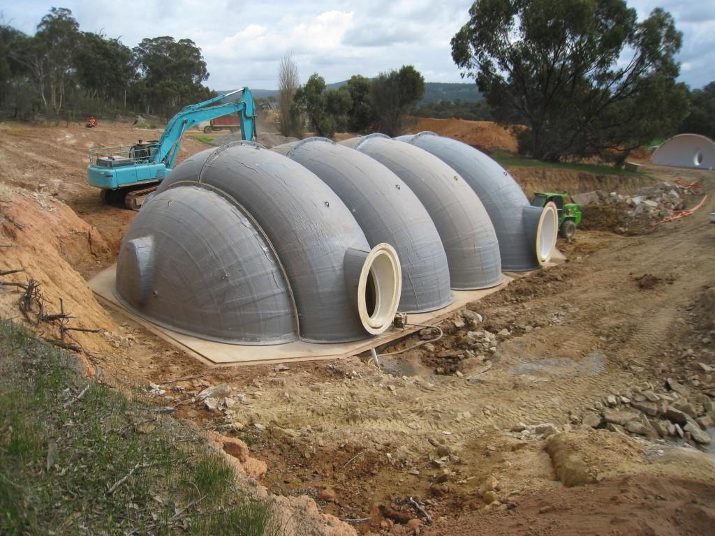 Fiberglass Shelter-Large